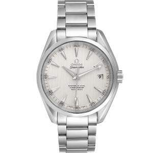 Omega Silver Stainless Steel Seamaster Aqua Terra Co-Axial 231.10.42.21.02.003 Men's Wristwatch 41.5 MM