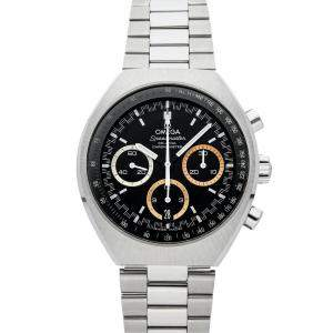 "Omega Black Stainless Steel Speedmaster Mark II Chronograph ""Rio 2016"" Limited Edition 522.10.43.50.01.001 Men's Wristwatch 42 x 46 MM"