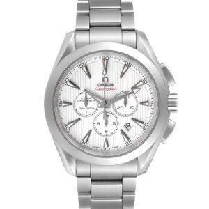 Omega Silver Stainless Steel Seamaster Aqua Terra 231.10.44.50.04.001 Men's Wristwatch 44 MM