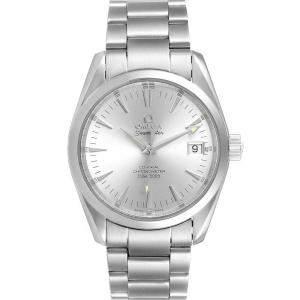 Omega Silver Stainless Steel Seamaster Aqua Terra 2503.30.00 Men's Wristwatch 39 MM