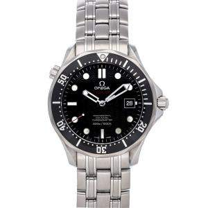 Omega Black Stainless Steel Seamaster Diver 300m 212.30.41.20.01.002 Men's Wristwatch 41 MM