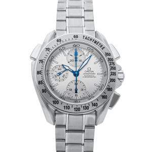 Omega Silver Stainless Steel Speedmaster Split-Seconds Chronograph 3540.30.00 Men's Wristwatch 42 MM