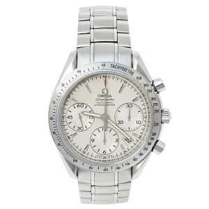 ساعة يد رجالية أوميغا سبيدماستر 178.0068 أوتوماتيكية ستانلس ستيل فضية 39 مم
