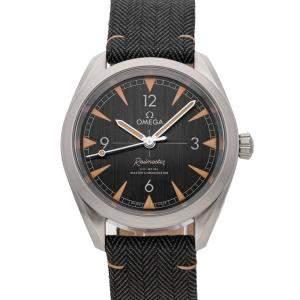 Omega Black Stainless Steel Seamaster Railmaster 220.12.40.20.01.001 Men's Wristwatch 40 MM