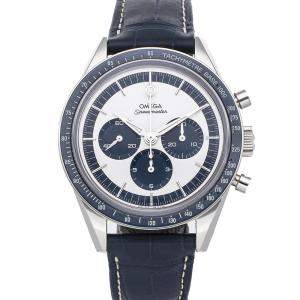 Omega Silver Stainless Steel Speedmaster Moonwatch Chronograph CK 2998 Limited Edition 311.33.40.30.02.001 Men's Wristwatch 39 MM