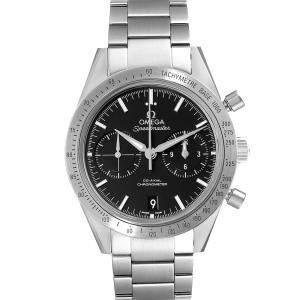 ساعة يد رجالية أوميغا سبيدماستر 57 كو-أكسيال كرونوغراف 331.10.42.51.01.001 ستانلس ستيل أسود 41.5 مم