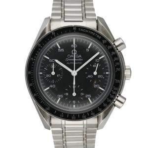 Omega Black Stainless Steel Speedmaster 3510.50 Men's Wristwatch 39 MM