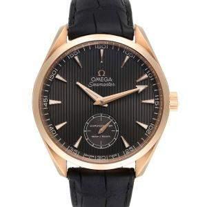 Omega Grey 18K Rose Gold Seamaster Aqua Terra XXL 231.53.49.10.06.001 Men's Wristwatch 49 MM