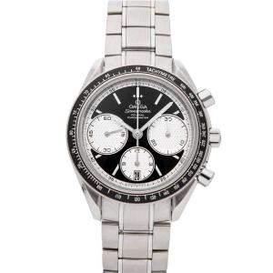 Omega Black Stainless Steel Speedmaster Racing Chronograph 326.30.40.50.01.002 Men's Wristwatch 40 MM