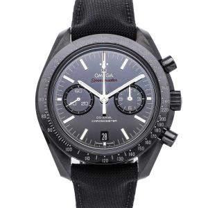 "Omega Black Ceramic Speedmaster ""Dark Side of the Moon"" 311.92.44.51.01.003 Men's Wristwatch 44 MM"