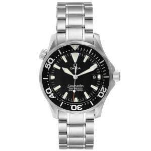 ساعة يد رجالية أوميغا سي ماستر جيمس بوند 2262.50.00 ستانلس ستيل سوداء 26 مم