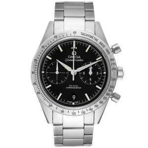 ساعة يد رجالية أوميغا سبيدماستر 57 كو أكسيال كرونوغراف 331.10.42.51.01.001 ستانلس ستيل سوداء 41.5 مم