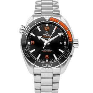 ساعة يد رجالية أوميغا سي ماستر بلانيك أوشن 600m  كرونومتر 215.30.44.21.01.002 ستانلس ستيل سوداء 43.5مم