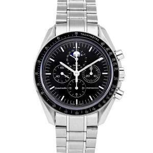 ساعة يد رجالية أوميغا سي ماستر كرونوغراف 3576.50.00 ستانلس ستيل سوداء 42مم