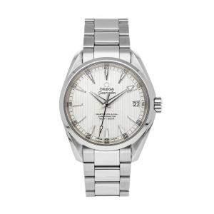 Omega Silver Stainless Steel Seamaster Aqua Terra 150m 231.10.39.21.02.002 Men's Wristwatch 39 MM