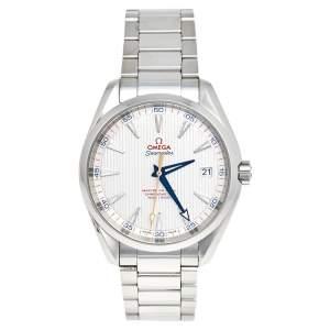 ساعة يد رجالية  أوميغا ساماستر أكوا تيرا جولف إديشن 231.10.42.21.02.004 ستانلس ستيل فضية 41.5 مم