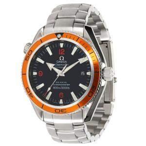 Omega Black Stainless Steel Seamaster Planet Ocean 232.30.41.21.01.002 Men's Wristwatch 42 MM