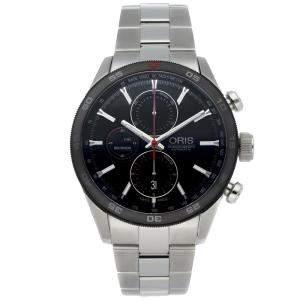 Oris Black Stainless Steel Artix GT Chronograph 01 774 7661 4424-07 8 22 87 Men's Wristwatch 44 MM