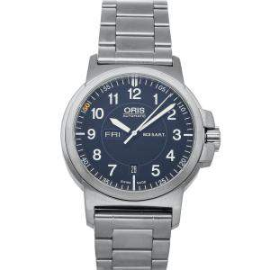Oris Black Stainless Steel Air BC3 Racing Silver Lake Edition 01 735 7641 4184 Men's Wristwatch 42 MM