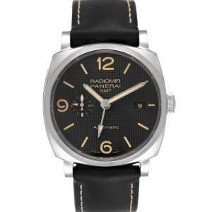 Panerai Black Stainless Steel Radiomir 1940 PAM00627 Men's Wristwatch 45 MM