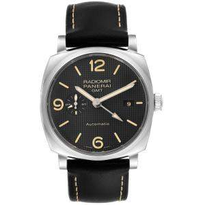 Panerai Black Stainless Steel Radiomir 1940 PAM00627 Men's Wristwatch 45 MM