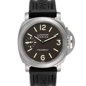 Panerai Black Titanium Luminor Marina PAM00061 Men's Wristwatch 44 MM