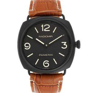Panerai Black Seal Ceramic Radiomir PAM00643 Men's Wristwatch 45 MM