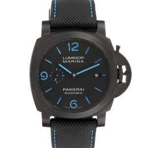 Panerai Black Carbotech Luminor Marina 1950 PAM01661 Men's Wristwatch 44 MM