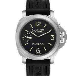 Panerai Black Titanium Luminor Marina PAM00177 Men's Wristwatch 44 MM