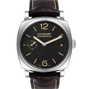 Panerai Black Stainless Steel Radiomir 1940 3 Days PAM00514 Men's Wristwatch 47 MM
