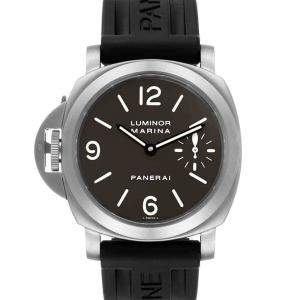 Panerai Black Titanium Luminor Base PAM00056 Men's Wristwatch 44 MM