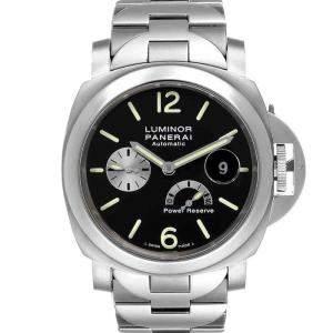 Panerai Black Titanium Luminor Power Reserve Automatic PAM00171 Men's Wristwatch 44 MM