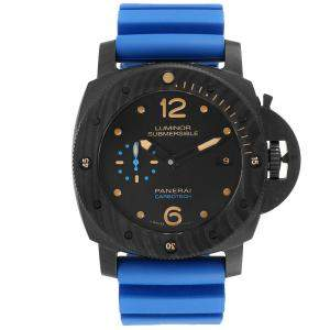 Panerai Black Carbotech Luminor Submersible 1950 PAM00616 Men's Wristwatch 47 MM