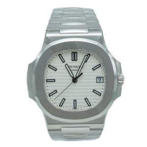 Patek Philippe Nautilus 5711 White Dial Stainless Steel Men's Watch 40 MM