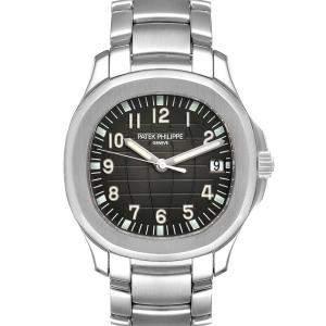 Patek Philippe Black Stainless Steel Aquanaut 5167A Men's Wristwatch 40 MM