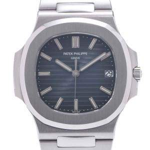 Patek Philippe Blue Stainless Steel Nautilus 5711/1A-010 Men's Wristwatch 40 MM