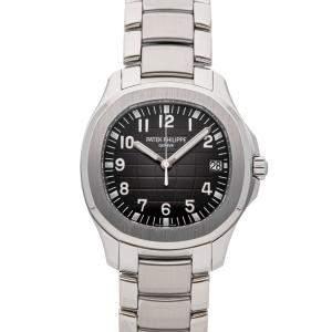 Patek Philippe Black Stainless Steel Aquanaut 5167/1A-001 Men's Wristwatch 40 MM