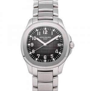 ساعة يد رجالية باتيك فيليب أكوانوت 5167/1A-001 ستانلس ستيل سوداء 40 مم