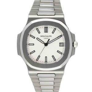 Patek Philippe Blue Stainless Steel Nautilus 5711-1A Men's Wristwatch 40 MM