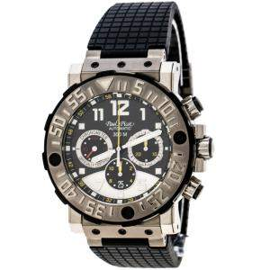Paul Picot Black Titanium Plonguer C-Type Titanium 4030 Men's Wristwatch 48 mm