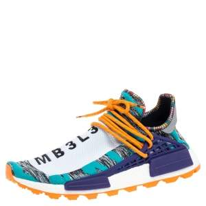Pharrell Williams x Adidas Multicolor Fabric Solar HU NMD Solar Pack - M1L3L3 Sneakers Size 45.5