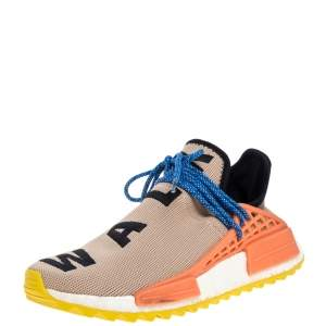 Pharrell Williams x adidas Beige Fabric Human Body NMD Sneakers Size 40 2/3