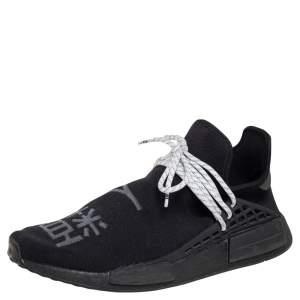 Adidas x Pharell Williams NMD Black Mesh Hu Low Top Sneakers Size 42.5