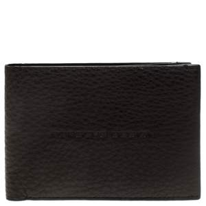 Porsche Design Dark Brown Leather Voyager 2.0 Bifold Wallet