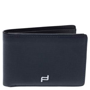 Porsche Design Blue Leather Touch H8 Bifold Wallet