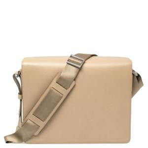 Porsche Design Dune Leather Flap Messenger Bag