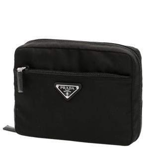 حقيبة صغيرة برادا نايلون سوداء