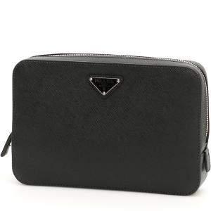 حقيبة صغيرة برادا سحاب نايلون سوداء