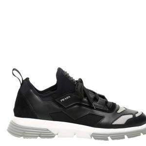 Prada Black Twist Sneakers Size UK 11 EU 45