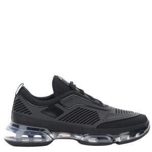 Prada Black Cloudbust Air Technical Fabric Sneakers Size EU 44 US 10